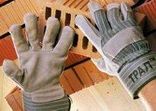 Перчатки ТРАЛ® спилковые комбинированные