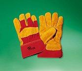 Перчатки РУССКИЕ ЛЬВЫ спилковые комбинированные возьми утепляющей подкладке