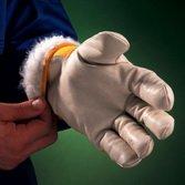 Перчатки ЮКОН кожаные комбинированные, утепленные