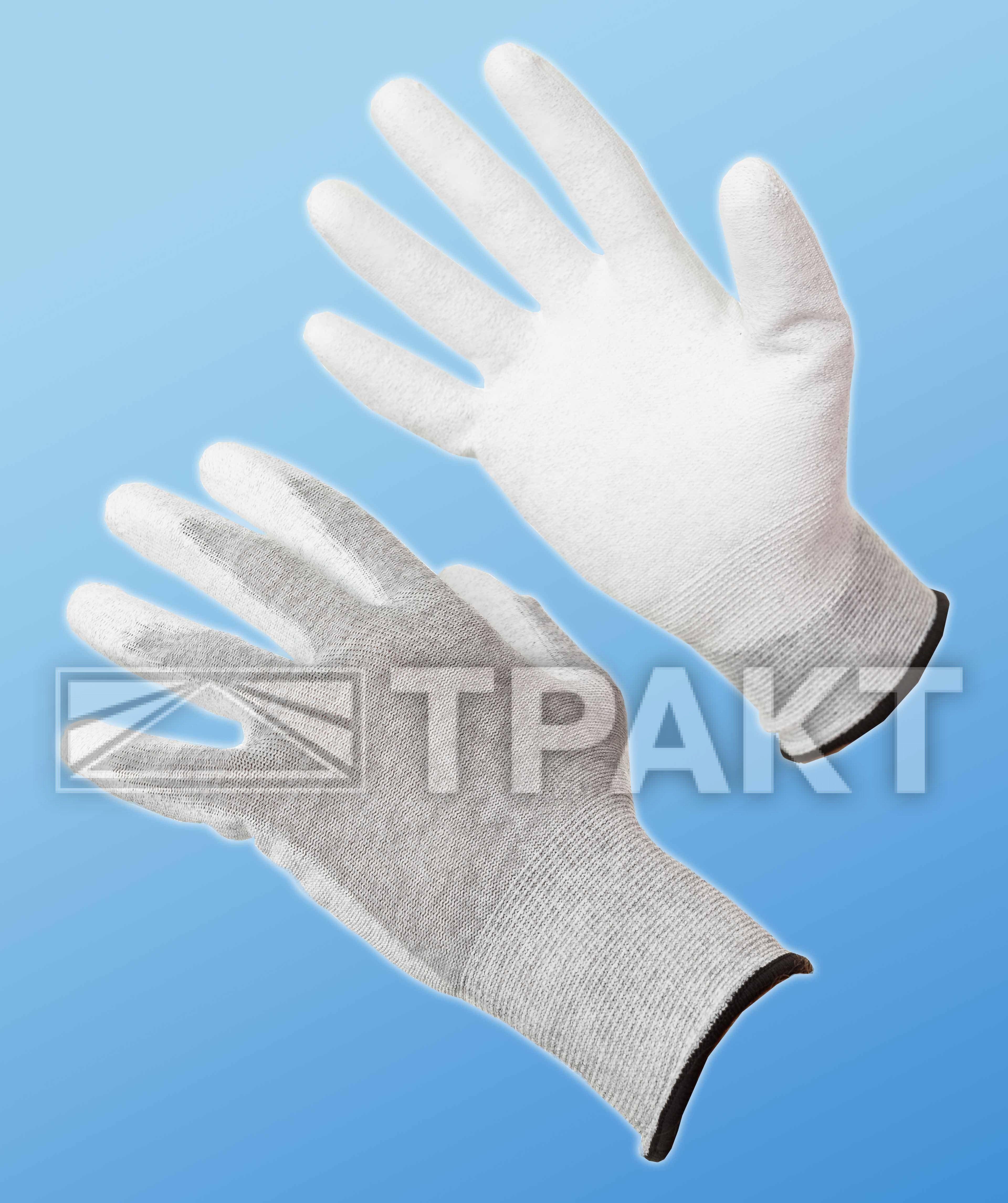 Перчатки МУЛЬТЕКС® с полиуретановым покрытием антистатичные - спецодежда от ТРАКТ